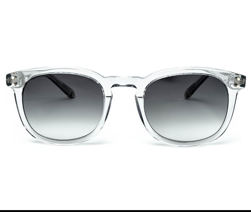 Alexis Amor Syd sunglasses in Light Grey Crystal
