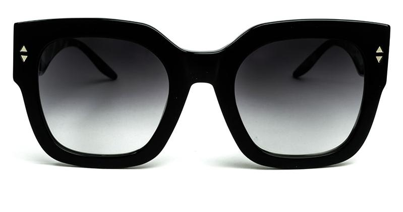 Alexis Amor The Rae sunglasses in Gloss Piano Black Marble