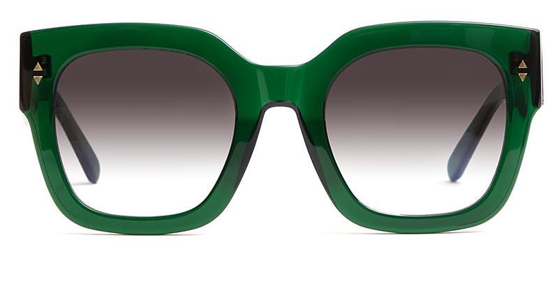 Alexis Amor The Rae sunglasses in Deepest Darkest Emerald