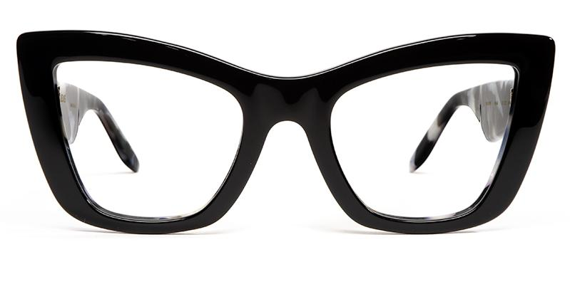 Alexis Amor Valentine SALE frames in Gloss Piano Black - Marble