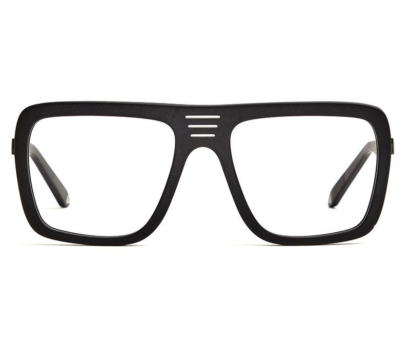 Alexis Amor Vito frames in Shiny Black Matte Black
